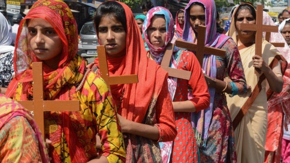 cristianismo en la India