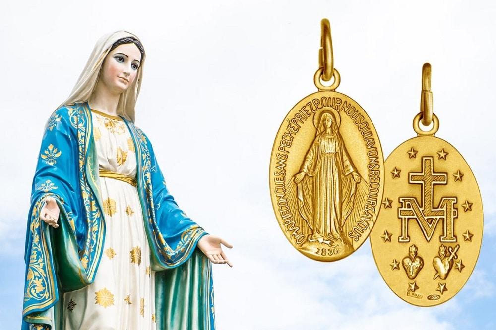 oración a la medalla milagrosa