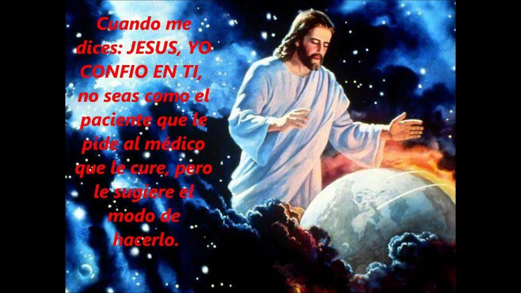 Jesús yo confío en ti