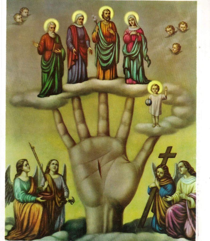 oración de la mano poderosa