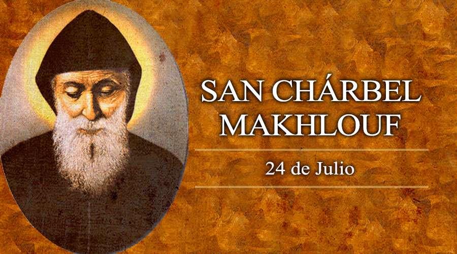 oración a San Charbel para el dinero