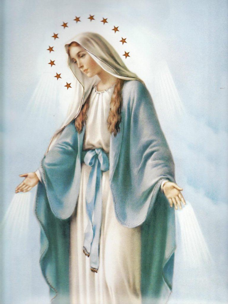 Óración Virgen Milagrosa