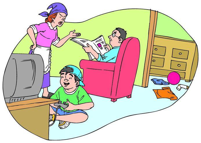 desintegración familiar