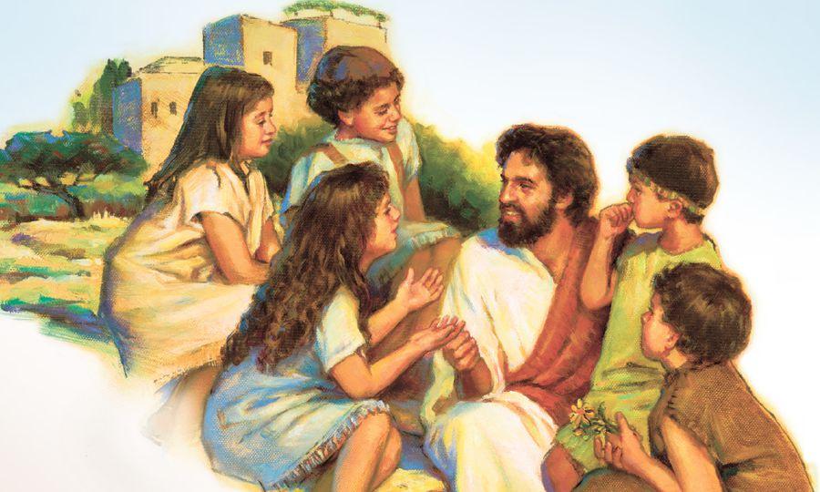 Jesús y los niños