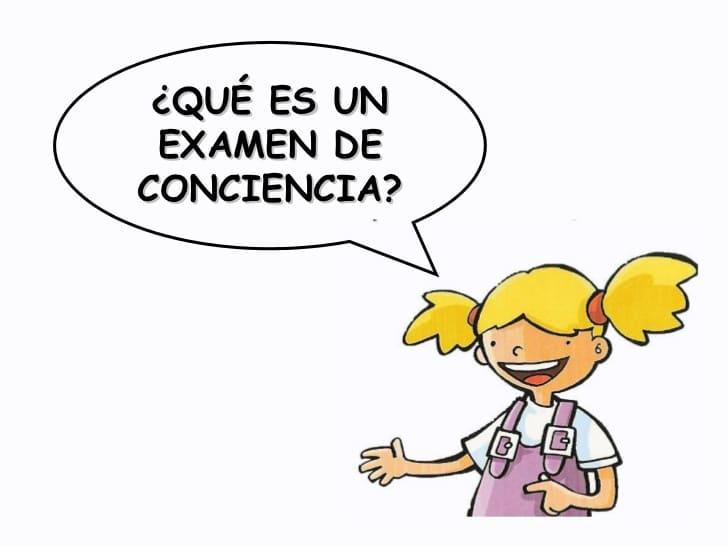 examen de conciencia para niños