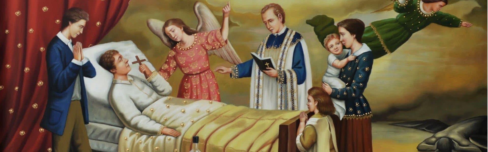 sacramen de unción sanación y penitencia