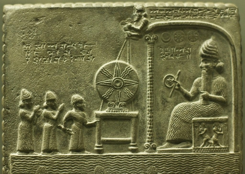 dioses de mesopotamia