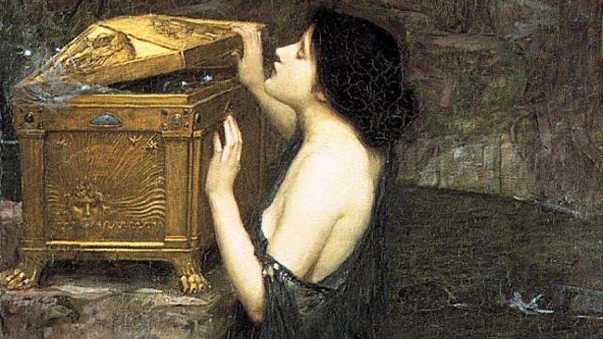 la caja de pandora mito