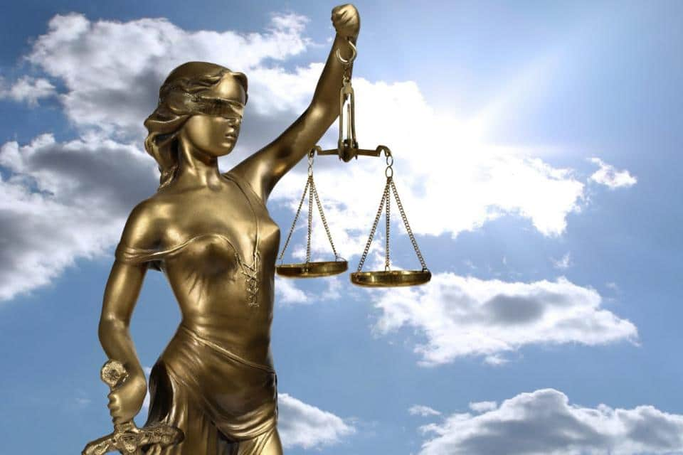la justicia de Dios