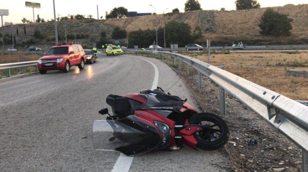 soñar con accidente de moto