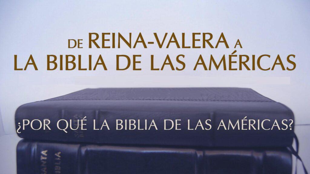 BIBLIA DE LAS AMÉRICAS