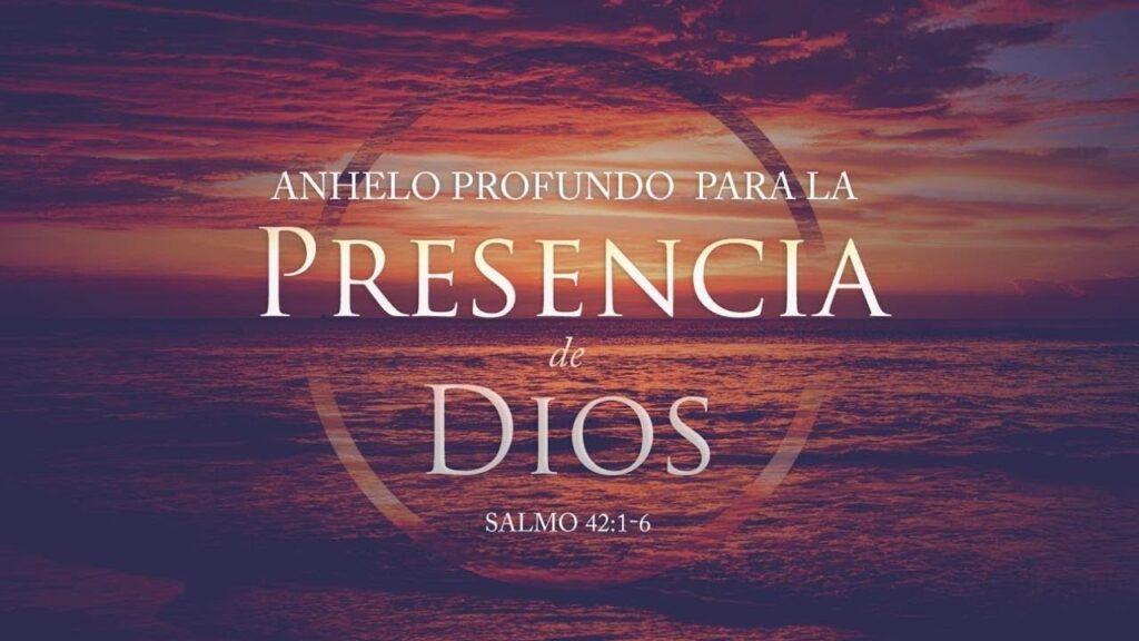 LA PRESENCIA DE DIOS